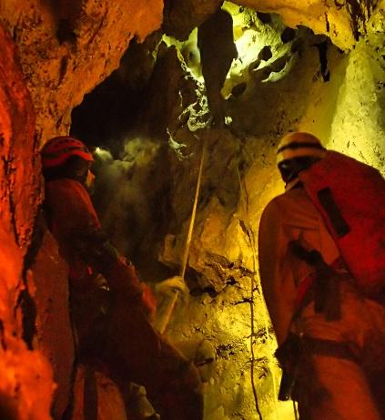 Le puits remontant Trou Pinambour