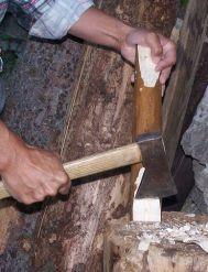 Obr. 3. Úprava priečky rebríka. Foto: M. Jagerčík