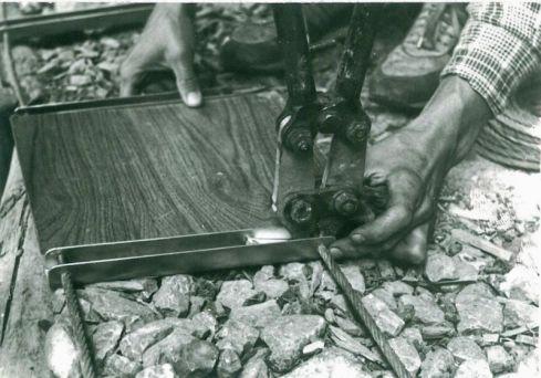 Detail lisovania