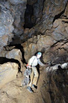 Veľký kaňon a nový rebrik je dole