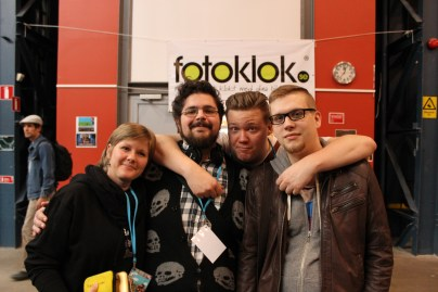 Lina, Samson, Anders och David.