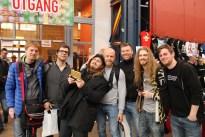 Hela gänget som bilade från Malmö! Längst till höger finns Niclas, med bloggen https://nicohlsson.wordpress.com/