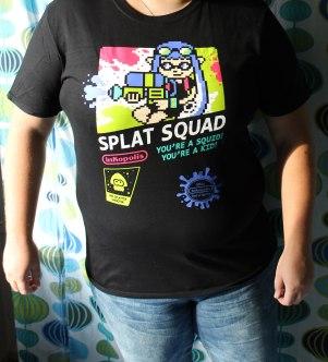 Jag tillhör definitivt splat squad i och med mina oändliga timmar Splatoon!