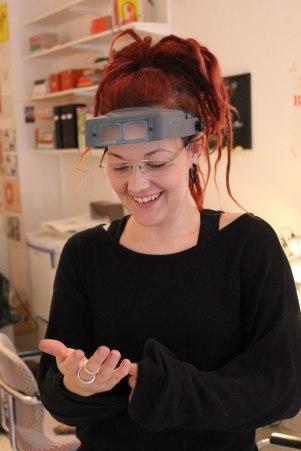Sarah Mineur har jobbat som guldsmed sedan 1998.