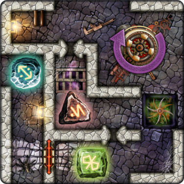 Dungeon Twister kortspel