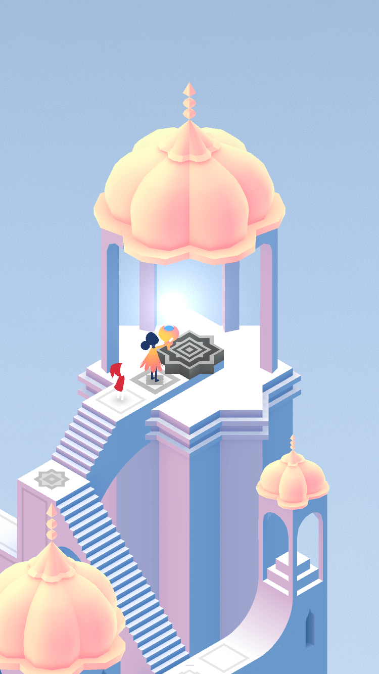 Screenshot från Monument Valley 2