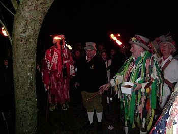 Wassailing the Apple trees on the twelfth nigh...