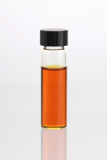 English: Glass vial containing Fleabane Essent...