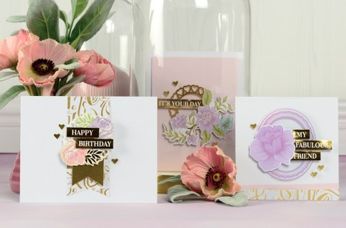 Spellbinders March 2018 Card Kit of the Month is Here!