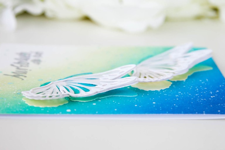 Exclusive Indie Collection Inspiration | Layered Monarch by Keeway for Spellbinders. The Exclusives collection is only available at select online and local independent retailers. #spellbinders #diecutting #handmadecard #neverstopmaking #spellbindersdies