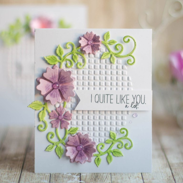 Spellbinders Special Moments Collection by Marisa Job - Inspiration | Small Cards with Elena featuring S5-378 Floral Oval dies #diecutting #cardmaking #neverstopmaking #handmadecard