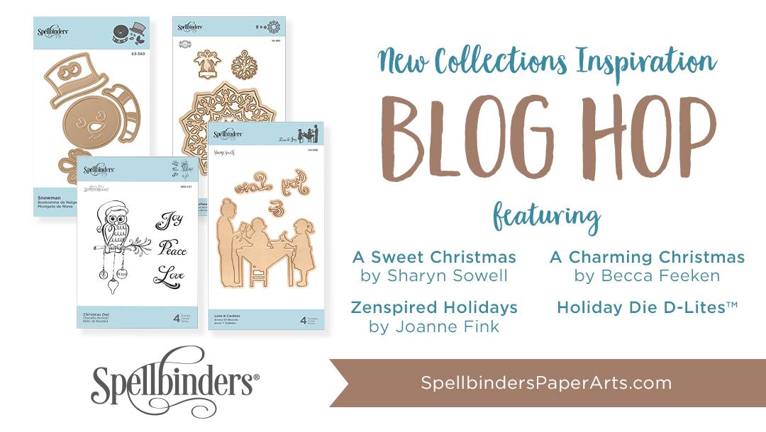 Spellbinders Holiday 2018 Release. Blog Hop + Giveaway