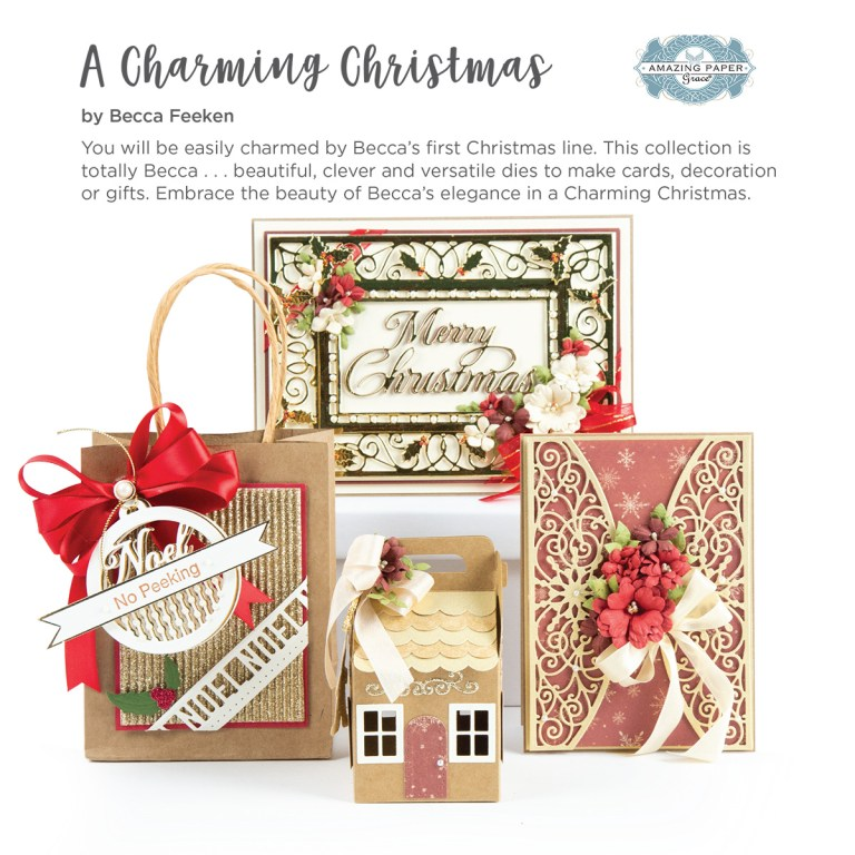 Spellbinders A Charming Christmas Inspiration | Collection Introduction by Becca Feeken