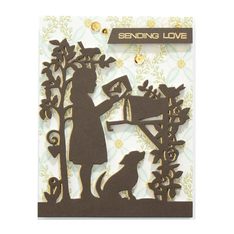 Great, Big, Wonderful World | Collection Introduction by Sharyn Sowell. S4-969-Sharyn-Great-Big-Wonderful-World-Sweet-Letters-Etched-Dies-project