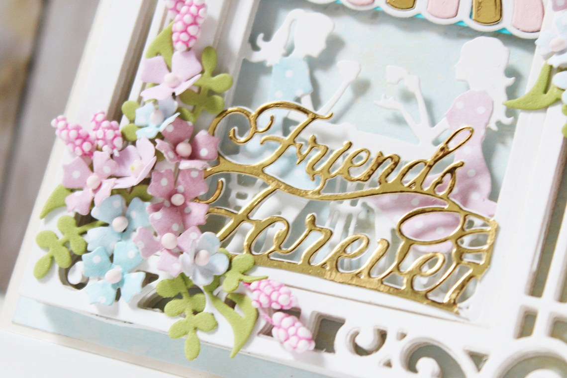Shadowbox Collection by Becca Feeken - Inspiration | Shadowbox Ideas with Hussena Calcuttawala for Spellbinders