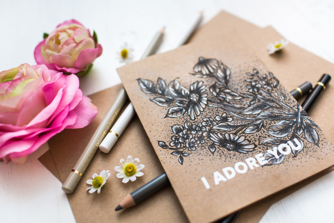 Just Add Color Collection by Stephanie Low - Inspiration   Monochromatic Floral Card with Mona Toth for Spellbinders