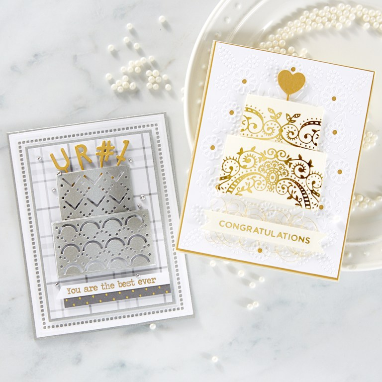 May 2019 Large Die of the Month is Here – Layer Cake Sparkles