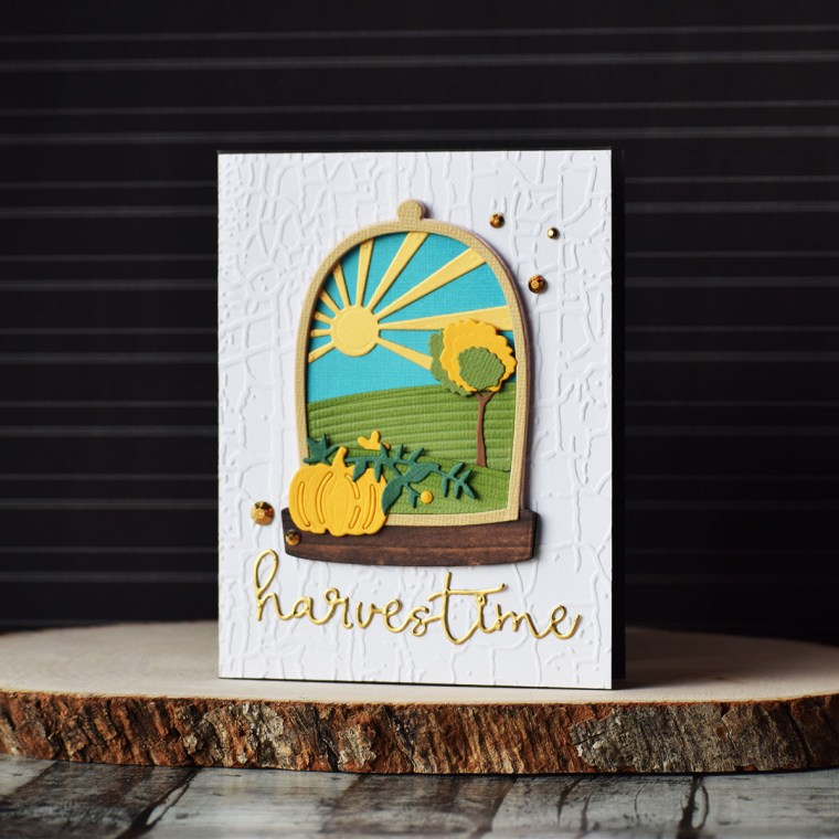 Spellbinders Scenic Snapshots Collection Inspiration | Card Ideas by Varada Sharma