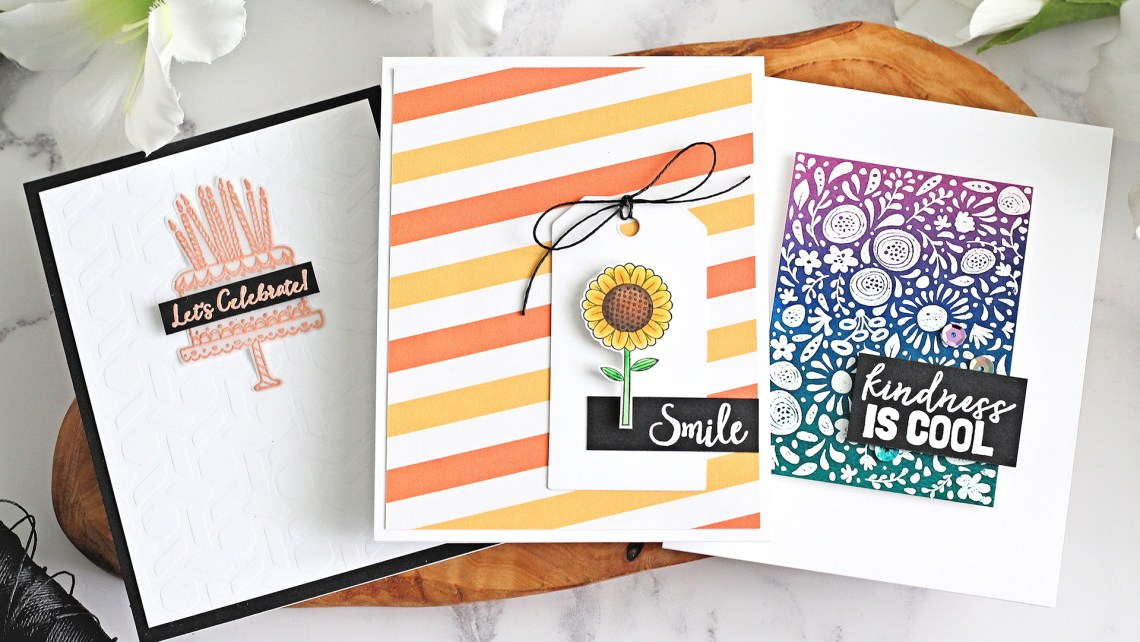 FSJ Kindness Matters | Clean & Simple Cards with Michelle Short | Video