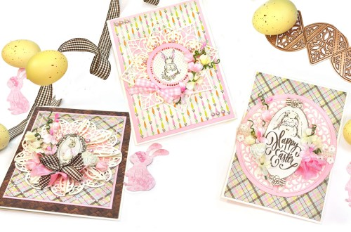 Easter Doilies Cards with Jennifer Snyder featuring Spellbinders Dimensional Doily Collection by Becca Feeken #Spellbinders #AmazingPaperGrace #DieCutting #Cardmaking