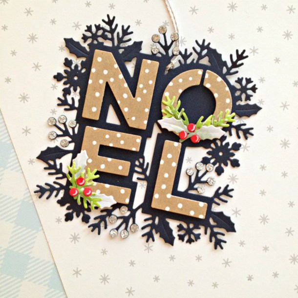 Spellbinders Sparkling Christmas Collection – Cardmaking Inspiration with Franci #Spellbinders #NeverStopMaking #Christmascardmaking #Cardmaking