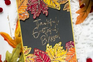 Fall & Halloween Card Ideas with Svitlana Shayevich for Spellbinders featuring Fall & Halloween 2020 Collection #Spellbinders #NeverStopMaking #GlimmerHotFoilSystem #Cardmaking