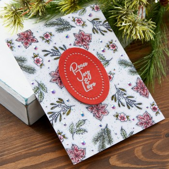 November 2020 Clear Stamp of the Month is Here – Christmas Gem