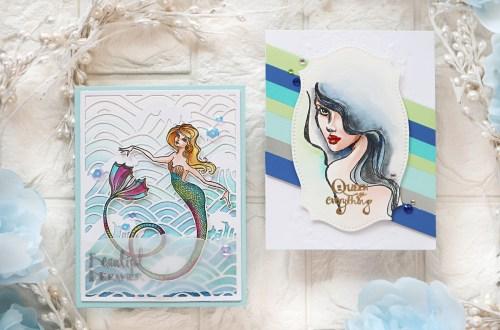 Spellbinders Stamp Camp Collection by Jane Davenport | Cardmaking Ideas with TaeEun Yoo #Spellbinders #NeverStopMaking #Cardmaking