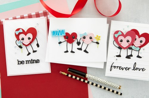 Introducing Spellbinders Dancin' Hearts S4-1104 Dies #Spellbinders #NeverStopMaking