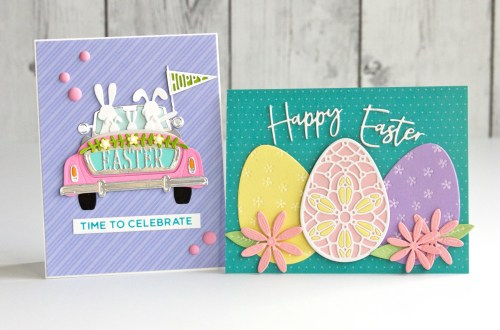 Spellbinders Expressions of Spring Collection | Signs of Spring - Bunnies and Eggs