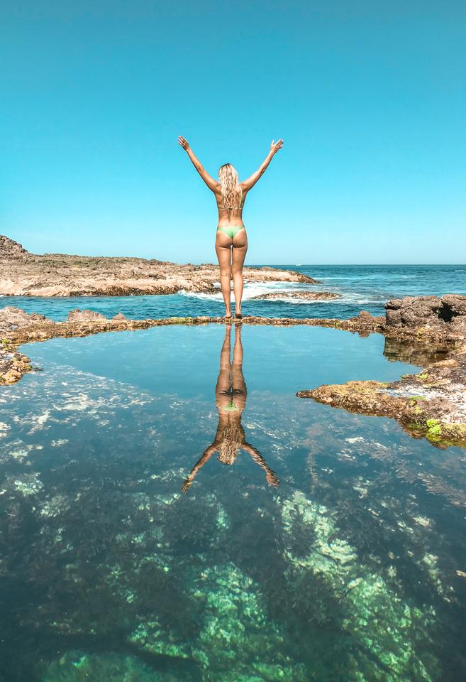 Dreaming of elsewhere bushrangers bay rock pools