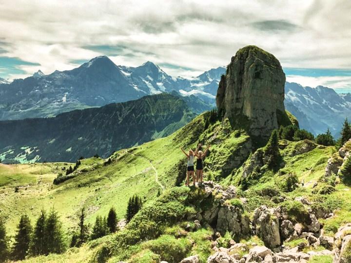Dreaming of elsewhere interlaken mountains