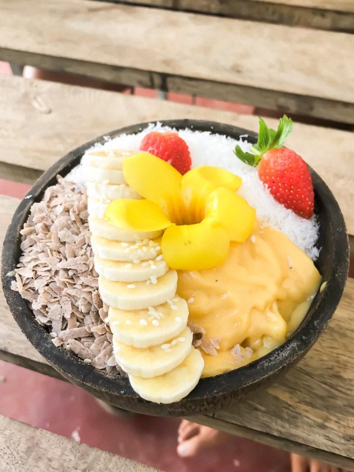 Dreaming of elsewhere smoothie bowl mirissa sri lanka