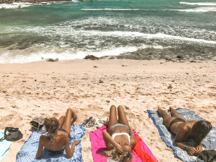 dreaming of elsewhere secret beach mirissa sri lanka