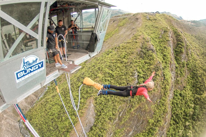 spellbound travels nevis bungee jump new zealand