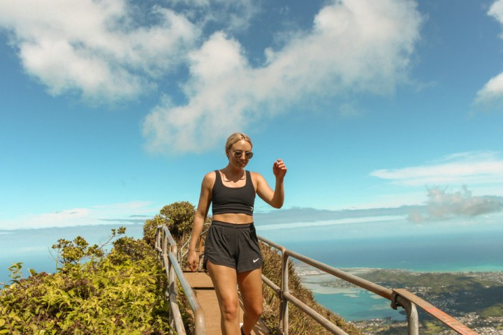 spellbound travels top of haiku stairs