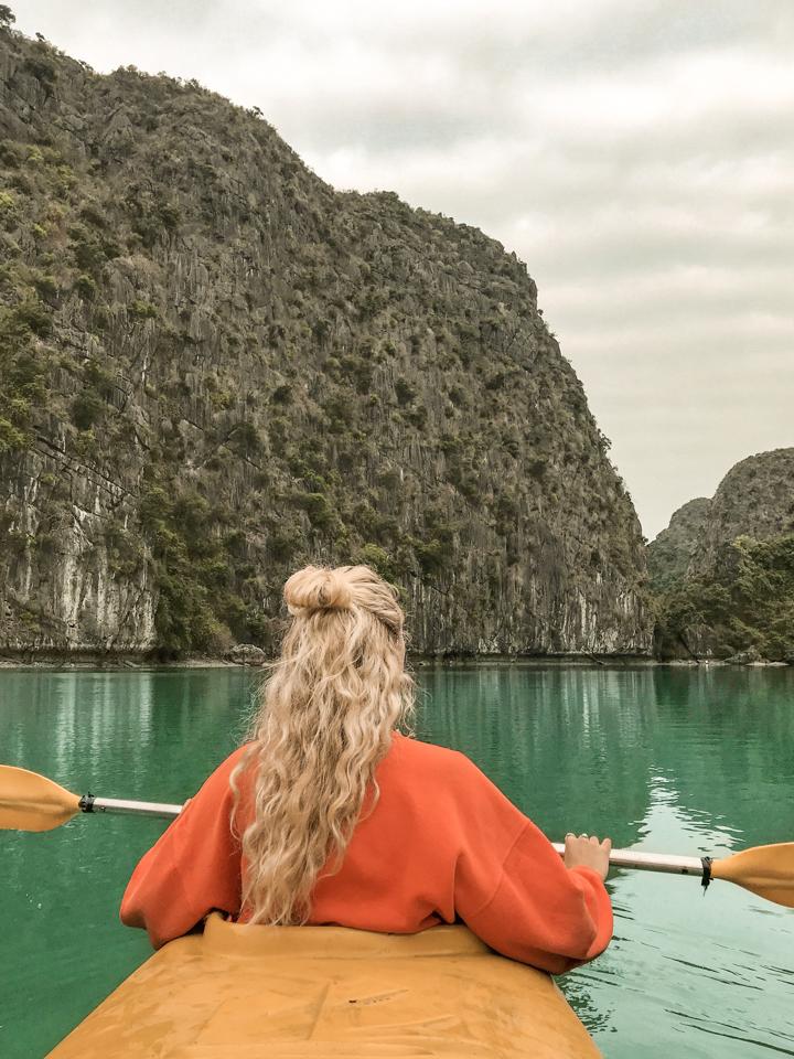 spellbound travels kayaking in ha long bay