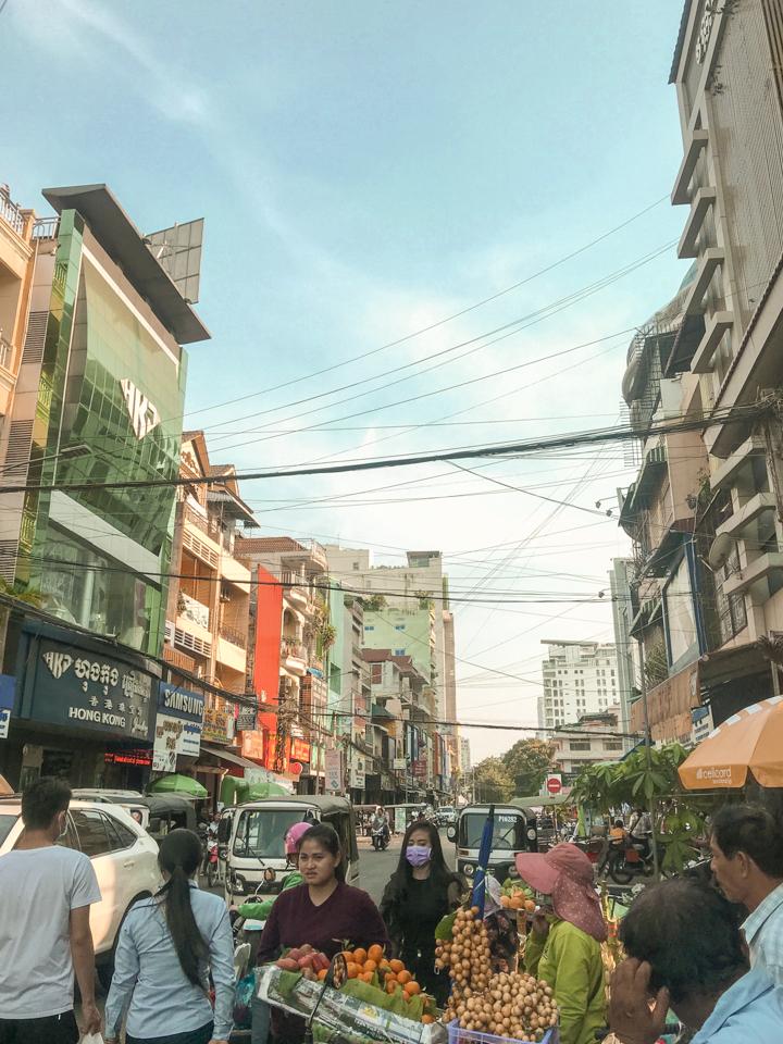 spellbound travels phnom penh market cambodia
