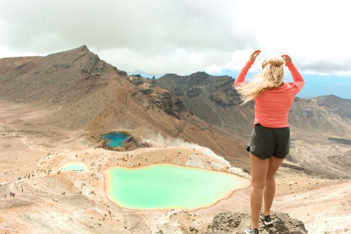 spellbound travels tongariro crossing peak