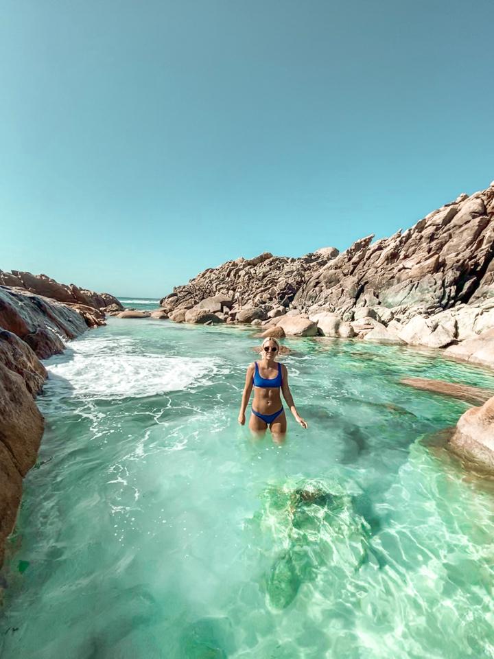 spellboundtravels western australia rock pools