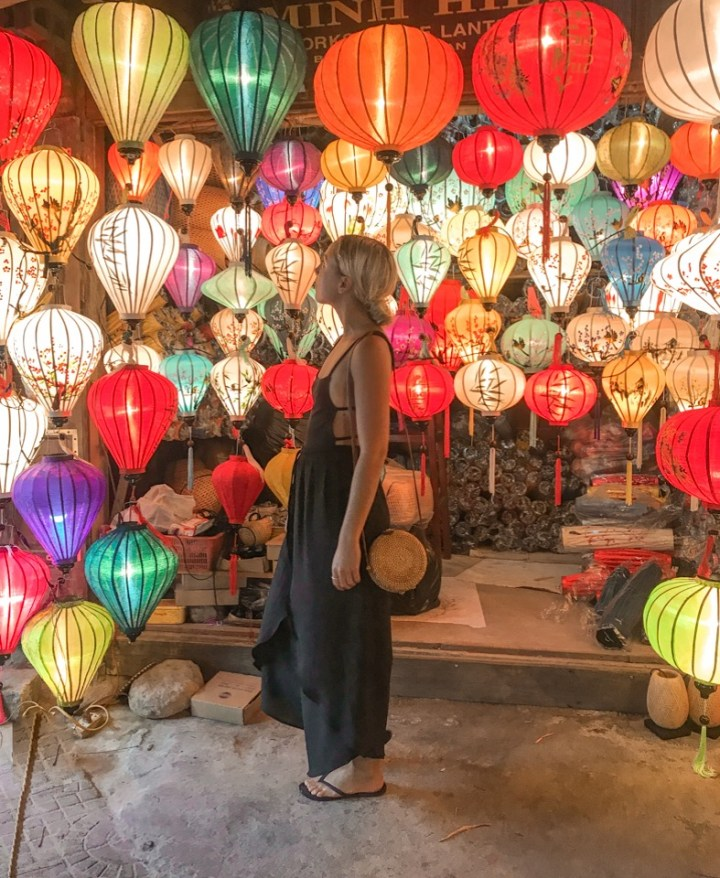 spellbound travels hoi an vietnam lanterns