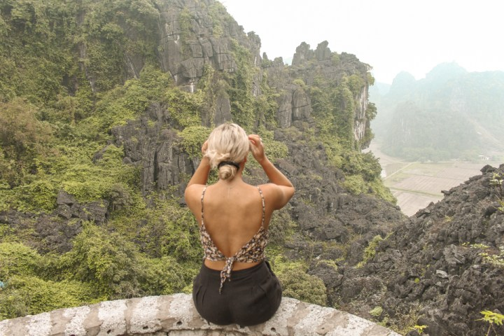 spellbound travels hang mua ninh binh vietnam lookout