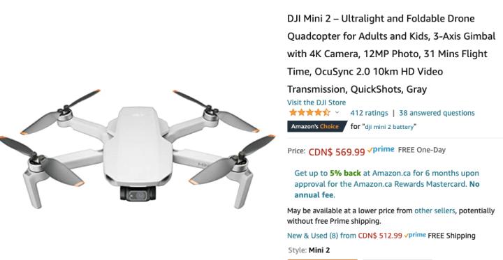 spellbound travels beginner drone amazon