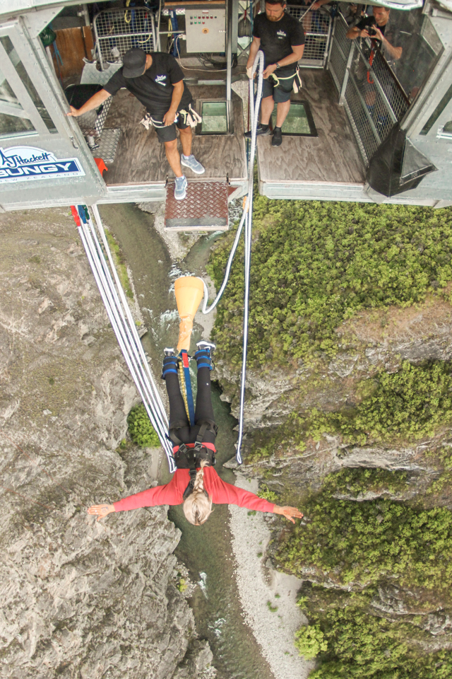 spellbound travels Nevis bungy new zealand travel