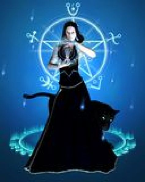 sorceress-black-panther-concentration-Magic Spells, Love Spells, Money Spells