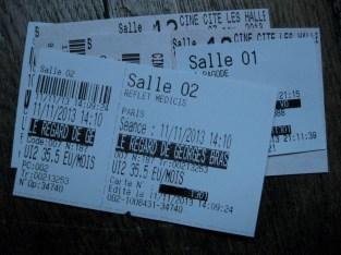 Cinema tickets UGC