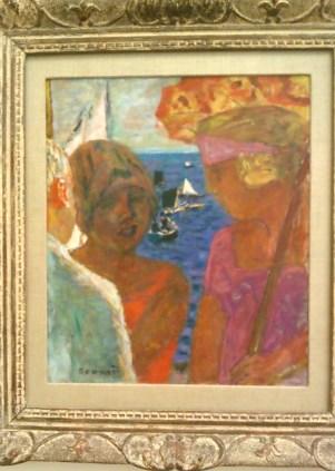 Conversation à Arcachon, Pierre Bonnard
