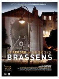 Le Regard de Georges Brassens Affiche Poster