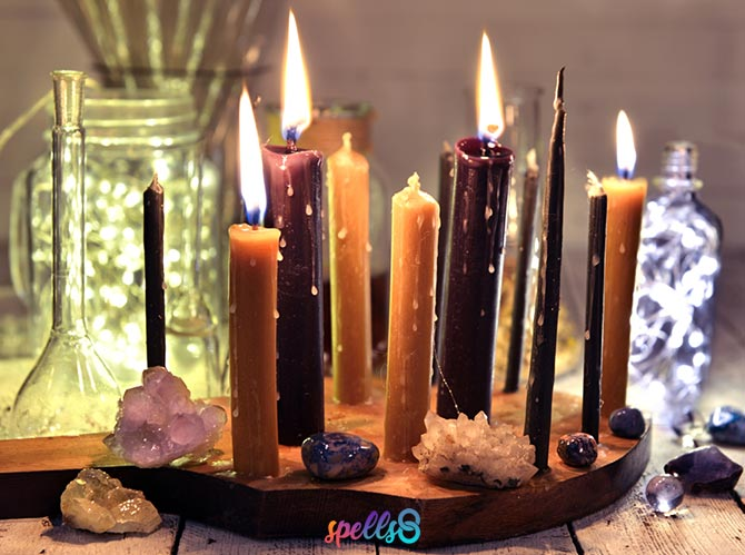 Basic Wiccan Altar for Beginners