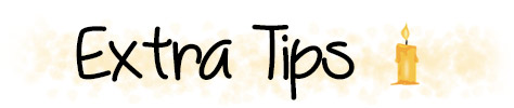 Extra tips casting spells